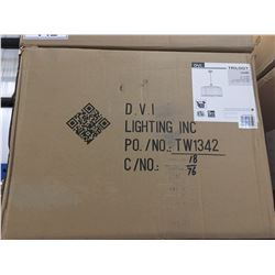 DVI TRILOGY HANGING PENDANT LIGHT FIXTURE