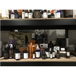 SHELF LOT OF AROMA THERAPY ESSENTIAL OILS/LOTIONS/CREAMS & RELATED PRODUCTS