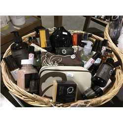ONE BASKET FULL OF AROMA THERAPY ESSENTIAL OILS/LOTIONS/CREAMS & RELATED PRODUCTS