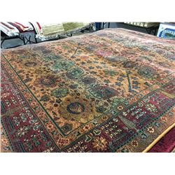 ORIENTAL SUPPER  8'X5' PERSIAN AREA RUG (RETAIL VALUE $1,760.00)