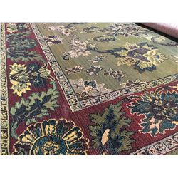 ORIENTAL SUPPER  8'X5' AREA RUG (RETAIL VALUE $2,160.00)