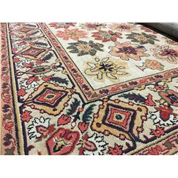 ORIENTAL SUPPER  8'X5' PERSIAN AREA RUG (RETAIL VALUE $1,690.00)