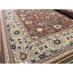 ORIENTAL SUPPER  8'X5' PERSIAN AREA RUG  (RETAIL VALUE $1,960.00)