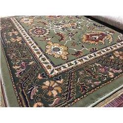 ORIENTAL SUPPER 8'X5' PERSIAN AREA RUG (RETAIL VALUE $1,290.00)