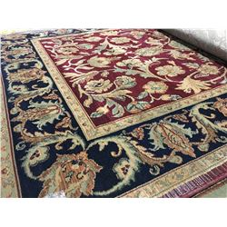 ORIENTAL SUPPER 8'X5' PERSIAN AREA RUG (RETAIL VALUE $1,370.00)