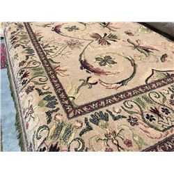 ORIENTAL SUPPER 8'X5' PERSIAN AREA RUG (RETAIL VALUE $2,030.00)