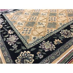 ORIENTAL SUPPER 8'X5' PERSIAN AREA RUG (RETAIL VALUE $1,970.00)