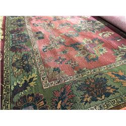 ORIENTAL SUPPER  8'X5' PERSIAN AREA RUG (RETAIL VALUE $2,300.00)