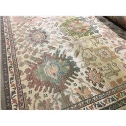ORIENTAL SUPPER  8'X5' PERSIAN AREA RUG (RETAIL VALUE $2,160.00)