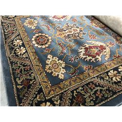 ORIENTAL SUPPER  8'X5' PERSIAN AREA RUG (RETAIL VALUE $1,420.00)