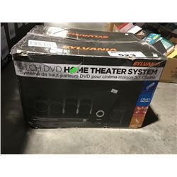 SYLVANIA 5.1 CHANNEL DVD HOME THEATER SYSTEM