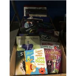 BOX OF ASSORTED CHILDRENS BOOKS
