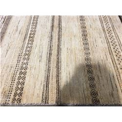 "GABBEH SUPER - WOOL 6'5""X4'1"" PERSIAN AREA RUG (RETAIL VALUE $3,200.00)"