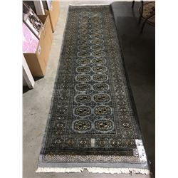 "BOKHARA-WOOL 9'X2'7"" PERSIAN AREA RUG RUNNER (RETAIL VALUE $1,540.00)"