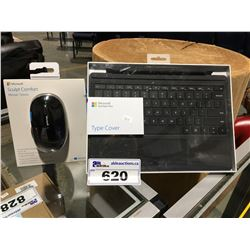 MICROSOFT SURFACE PRO KEYBOARD & MOUSE