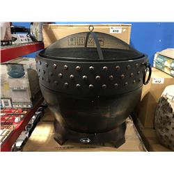 PARAMOUNT OUTDOOR ROUND WOOD BURNING FIRE PIT