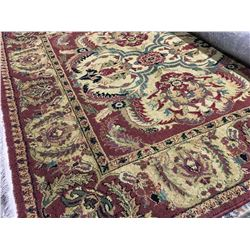 ORIENTAL SUPPER  8'X5' PERSIAN AREA RUG (RETAIL VALUE $2,230.00)