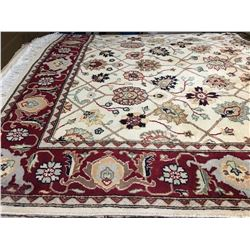 "TABRIZ-WOOL 6'3""X4'2"" PERSIAN AREA RUG (RETAIL VALUE $3,200.00)"