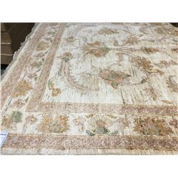 "SARUGH ANTIQUE FIN -WOOL 6'1""X4' PERSIAN AREA RUG (RETAIL VALUE $3,090.00)"