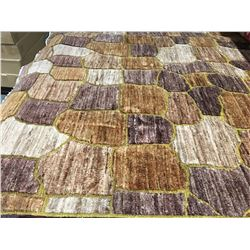 "MODERN -WOOL 6'5""X5' PERSIAN AREA RUG (RETAIL VALUE $2,980.00)"
