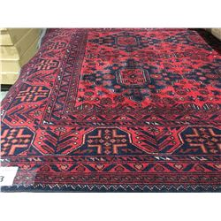"SERAPI -WOOL 6'6""X4'9"" PERSIAN AREA RUG (RETAIL VALUE $2,800.00)"