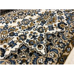 "KASHAN DESIGN -WOOL 6'7""X6'7"" OCTAGON  AREA RUG (RETAIL VALUE $960.00)"
