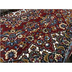 ORIENTAL SUPPER-WOOL 7'X7' OCTAGON  AREA RUG (RETAIL VALUE $1,320.00)