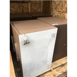 4 TWO  DRAWER COMMERCIAL CABINETS