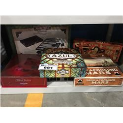 GROUP OF 5 ASSORTED BOARD GAMES