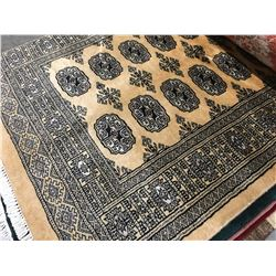 "BOKHARA - WOOL 5'X3'1"" PERSIAN AREA RUG (RETAIL VALUE $1,140.00)"
