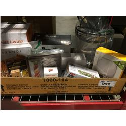 BOX OF ASSORTED KITCHENWARES
