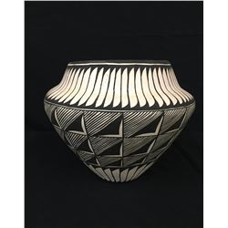 Acoma Painted Pottery Bowl
