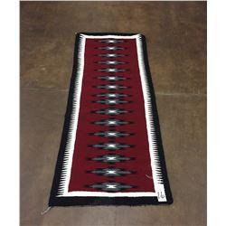 Vintage Navajo Textile - Runner