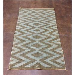 Vintage Twill Weave Navajo Textile