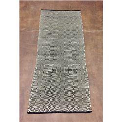 Vintage Twill Weave Double Saddle Blanket