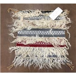 Tufted Navajo Rug by 6 Year Old Weaver