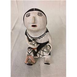 Vintage Acoma Storyteller Pot