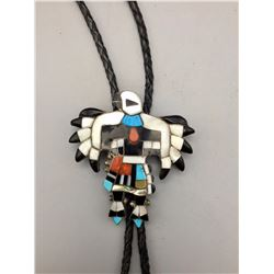 Eagle Dancer Inlay Bolo
