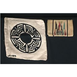 Chimayo Clutch and Pima Pillow Cover