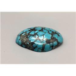 Large Webbed Turquoise Cabochon
