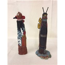 Pair of Hopi Kachina