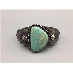 Retro Style Turquoise Bracelet - Ambrose Tsosie