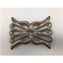 1980s Sandcast Buckle