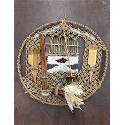 Navajo Folk Art Weaving Sampler - Sylvia Begay
