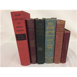 Group of 6 Antique / Collectible Books