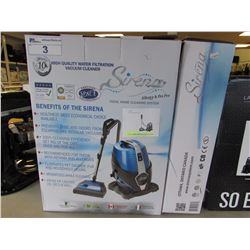 SIRENA ALLERGY & PET PRO TOTAL HOME CLEANING SYSTEM VAC