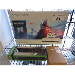 1TB XBOX ONE S WITH ACCESSORIES