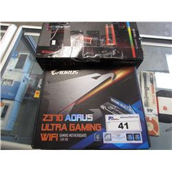 AORUS Z370 GAMING MOTHERBOARD & NEOCHANGER RGB LED RESERVOIR