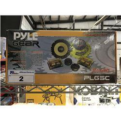 PYLE GEAR 300 WATT CUSTOM COMPONENT SYSTEM