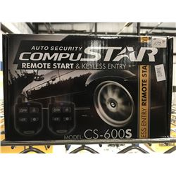 AUTO SECURITY COMPUSTAR REMOTE CAR STARTER AND KEYLESS ENTRY